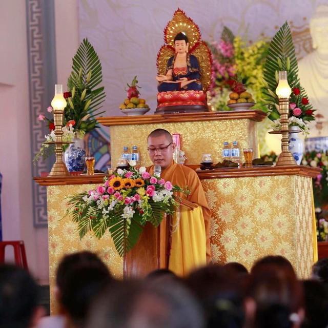 Sư thầy Thích Đồng Hoàng xuất gia tại chùa Pháp Hoa, huyện Điện Bàn, tỉnh Quảng Nam