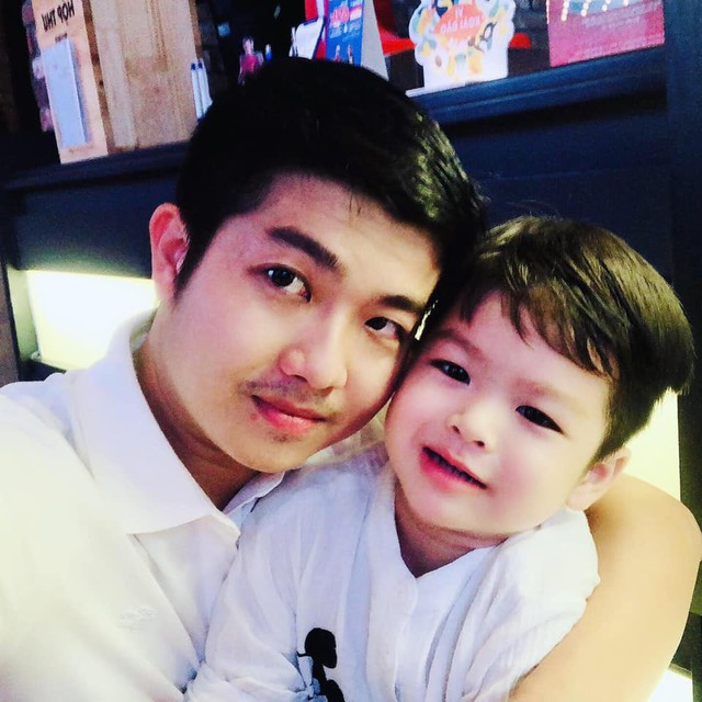 Sau khi ly hôn, chồng cũ của Nhật Kim Anh nhận trách nhiệm nuôi con.