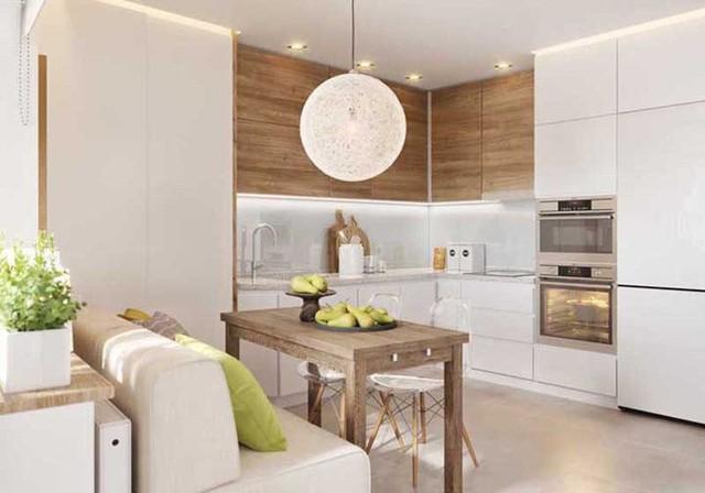 Một căn bếp hiện đại là một căn bếp thỏa mãn mọi nhu cầu sử dụng của người dùng.