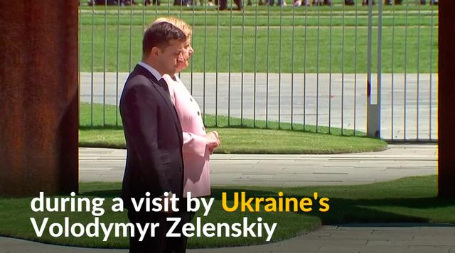 Thủ tướng Đức và Tổng thống Ukraine