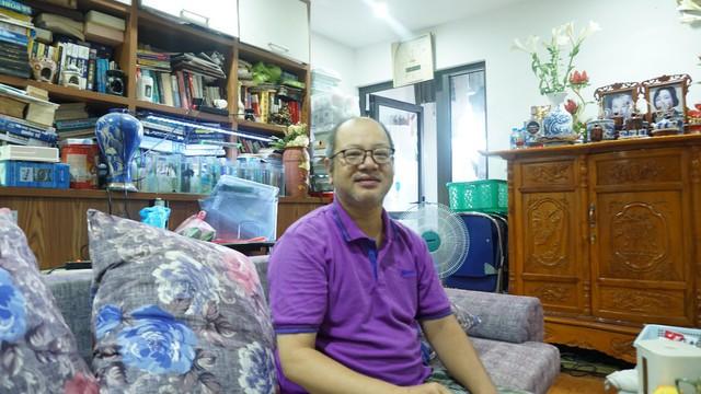 Anh Vũ Thế Anh chủ căn hộ B707 hào hứng chia sẻ những tiện ích tại Hateco Hoàng Mai