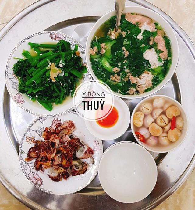 Những bữa cơm nấu vội nhưng vẫn cực chất của 9x Quảng Ninh khiến chồng ăn rất nhiệt tình  - Ảnh 14.