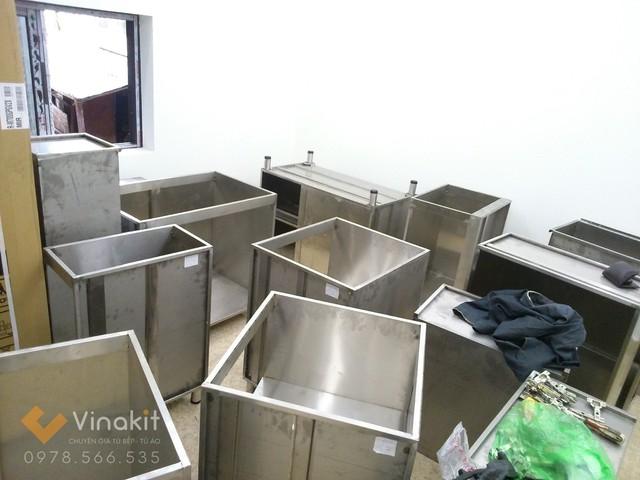 Mỗi khoang tủ inox là 1 modul độc lập