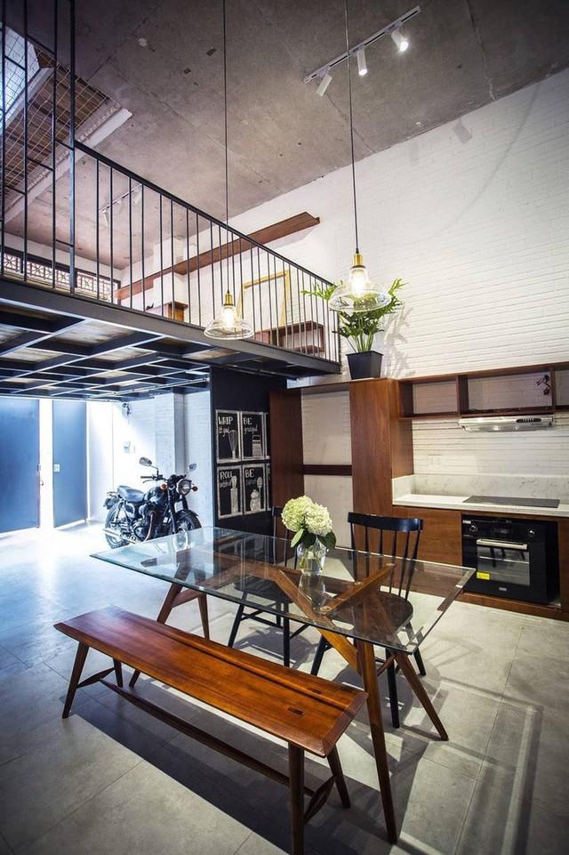 Các món nội thất đơn giản, nhẹ nhàng, thông minh mang đến cho tổng thể cái nhìn dễ chịu.