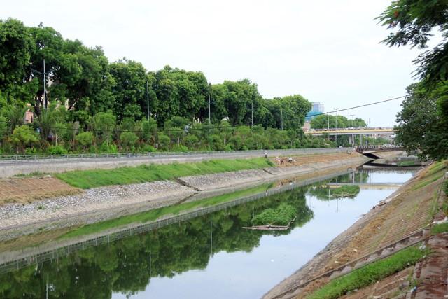 Với những dự án đang trình và những công nghệ đang được Hà Nội thí điểm đang góp phần làm hồi sinh sông Tô Lịch, đáp ứng sự mong mỏi của hàng triệu cư dân Thủ đô. Ảnh: Bảo Loan