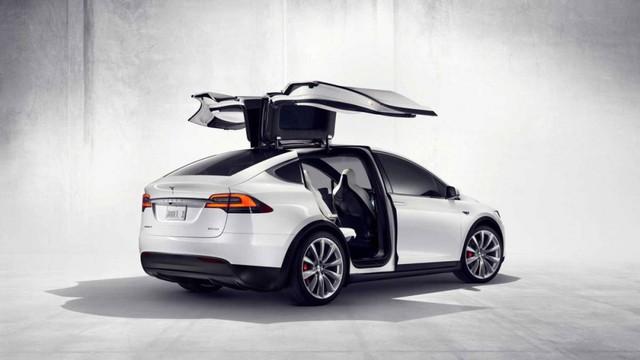 Đứng vị trí thứ 2 tiếp tục là một mẫu Tesla, Model X. (Ánh: Tesla)