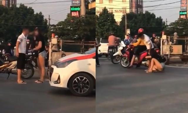 Đánh bạn gái tới tấp trên đường phố, nam thanh niên khiến dư luận phẫn nộ - Ảnh 3.