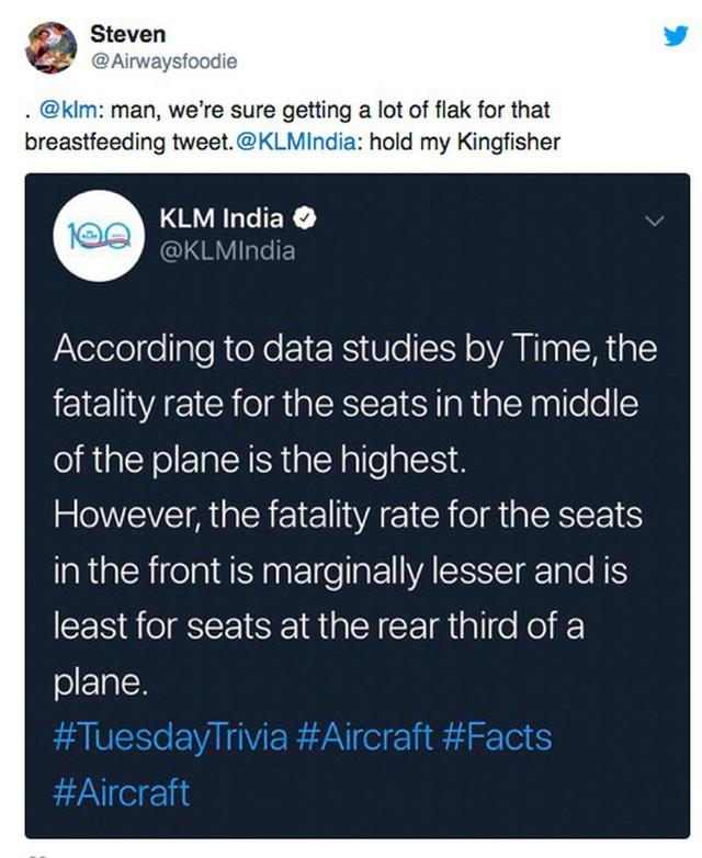 Sốc: Hãng hàng không Hà Lan gây phẫn nộ khi lỡ miệng công bố chỗ ngồi… dễ chết nhất trên máy bay - Ảnh 5.