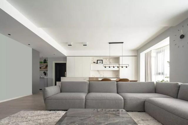 Không cần nhiều đồ trang trí nhưng căn hộ 128m² vẫn gây bất ngờ vì quá đẹp - Ảnh 2.