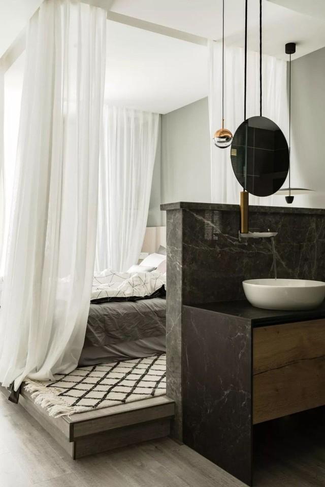 Không cần nhiều đồ trang trí nhưng căn hộ 128m² vẫn gây bất ngờ vì quá đẹp - Ảnh 11.