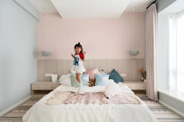 Không cần nhiều đồ trang trí nhưng căn hộ 128m² vẫn gây bất ngờ vì quá đẹp - Ảnh 14.