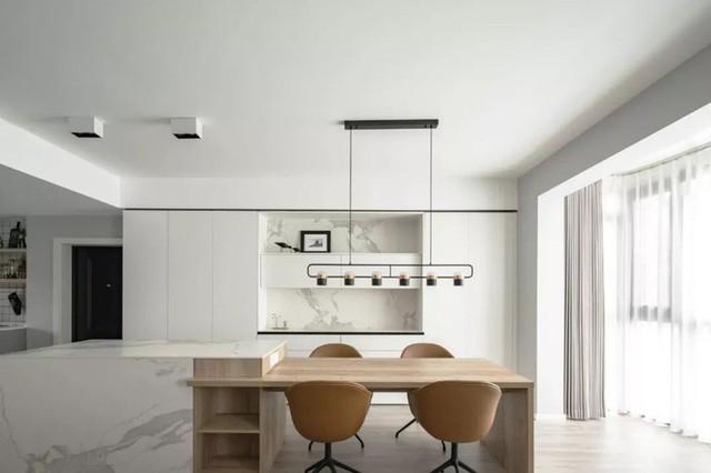 Không cần nhiều đồ trang trí nhưng căn hộ 128m² vẫn gây bất ngờ vì quá đẹp - Ảnh 5.