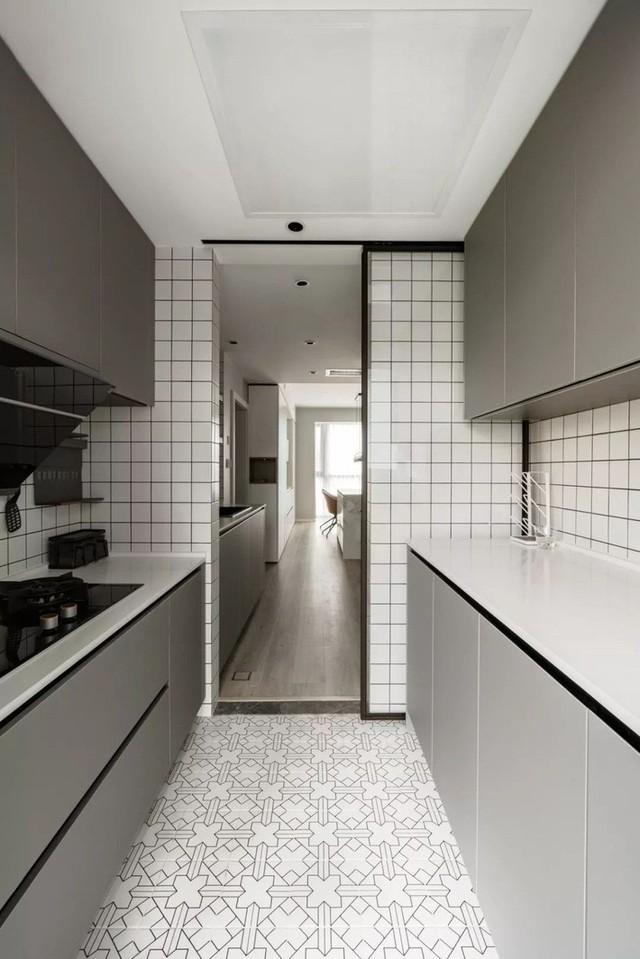 Không cần nhiều đồ trang trí nhưng căn hộ 128m² vẫn gây bất ngờ vì quá đẹp - Ảnh 7.