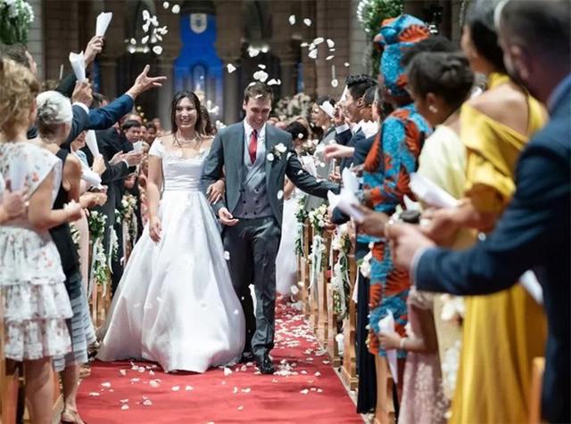 Đám cưới của cô gái mang dòng máu Việt với con trai công chúa Monaco - Ảnh 1.
