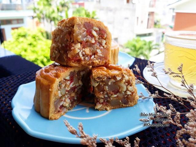 Cách làm bánh nướng truyền thống tuyệt ngon lại đơn giản cho Tết Trung thu - Ảnh 11.