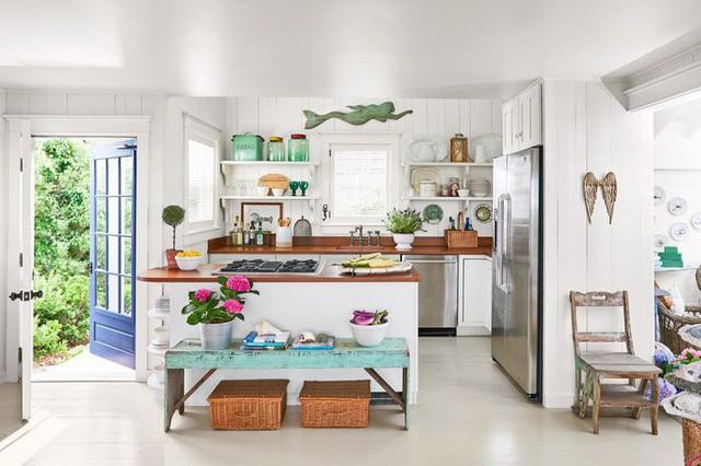 10 gam màu giúp căn bếp nhỏ trở thành điểm nhấn khó quên cho ngôi nhà  - Ảnh 2.