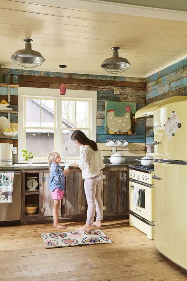 10 gam màu giúp căn bếp nhỏ trở thành điểm nhấn khó quên cho ngôi nhà  - Ảnh 7.