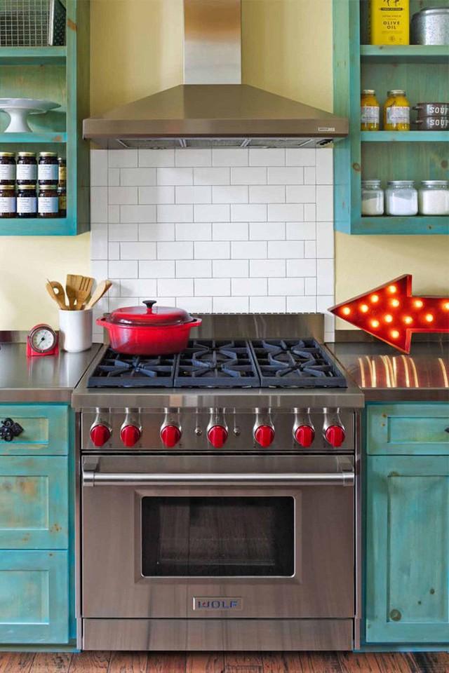 10 gam màu giúp căn bếp nhỏ trở thành điểm nhấn khó quên cho ngôi nhà  - Ảnh 8.