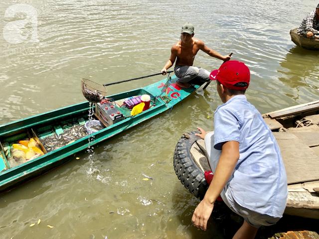 Phóng sinh Rằm tháng 7: Chim vừa sổ lồng, cá được thả xuống sông chưa kịp bơi đã bị đặt bẫy, chích điện vớt lên bán lại cho khách - Ảnh 21.