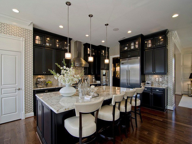 Muốn nhà bếp vừa đẹp vừa sang thì chọn ngay chất liệu đá cẩm thạch - Ảnh 13.