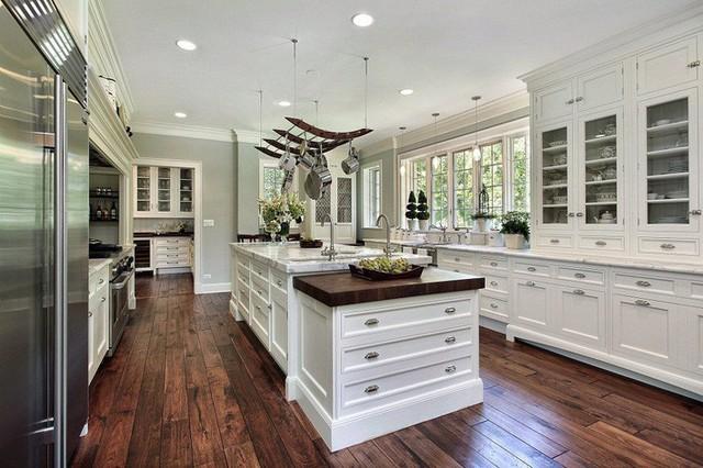 Muốn nhà bếp vừa đẹp vừa sang thì chọn ngay chất liệu đá cẩm thạch - Ảnh 3.