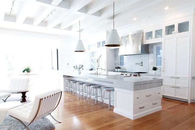 Muốn nhà bếp vừa đẹp vừa sang thì chọn ngay chất liệu đá cẩm thạch - Ảnh 6.