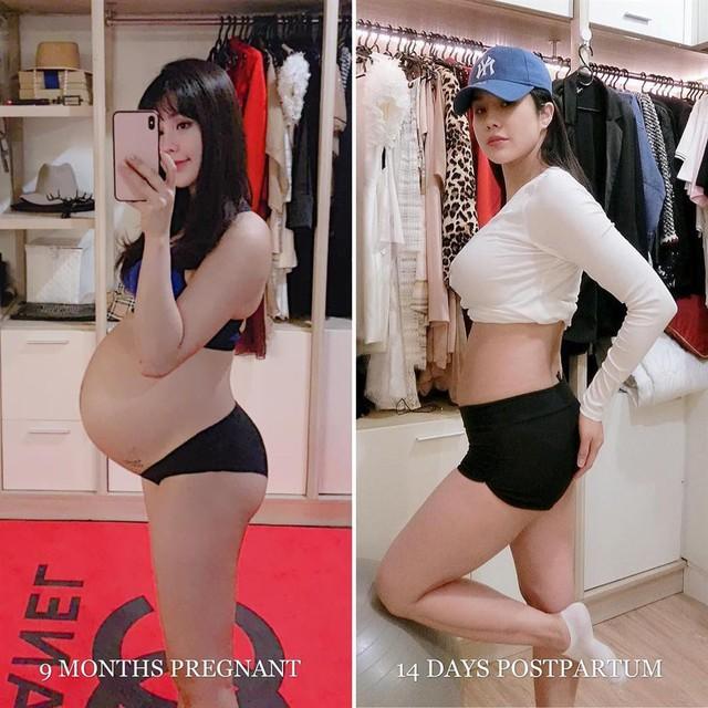 Mỹ nhân Việt lấy lại vóc dáng thần tốc sau sinh, ngỡ như chưa từng qua một lần sinh nở - Ảnh 10.