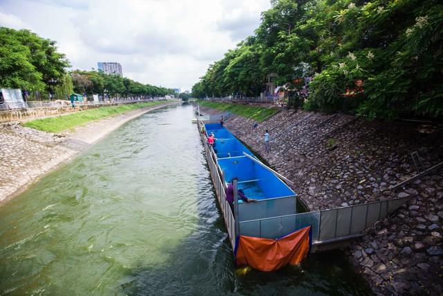Lắp đặt khu vực trình diễn xử lý nước ô nhiễm, chuyên gia Nhật sẽ tắm sông Tô Lịch - Ảnh 5.