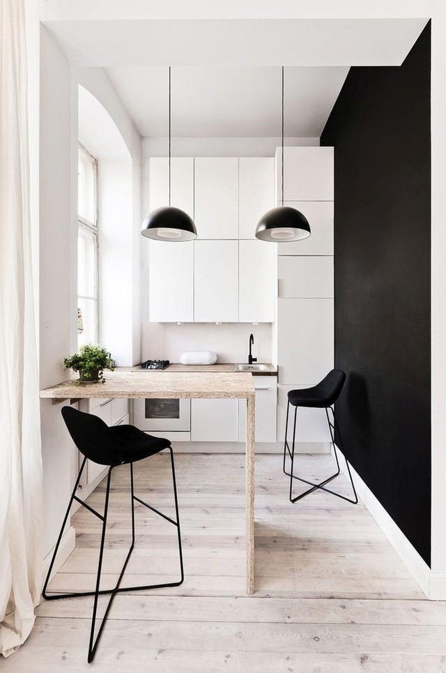 Nhà bếp nhỏ ở chung cư sẽ lột xác thoáng rộng trông thấy nhờ những ý tưởng siêu hay này - Ảnh 1.