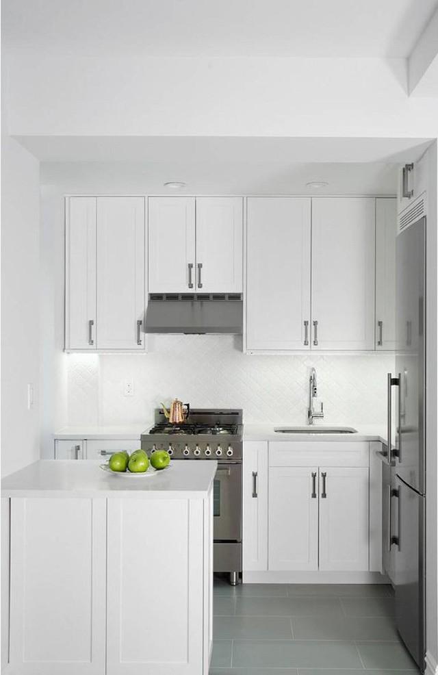 Nhà bếp nhỏ ở chung cư sẽ lột xác thoáng rộng trông thấy nhờ những ý tưởng siêu hay này - Ảnh 11.