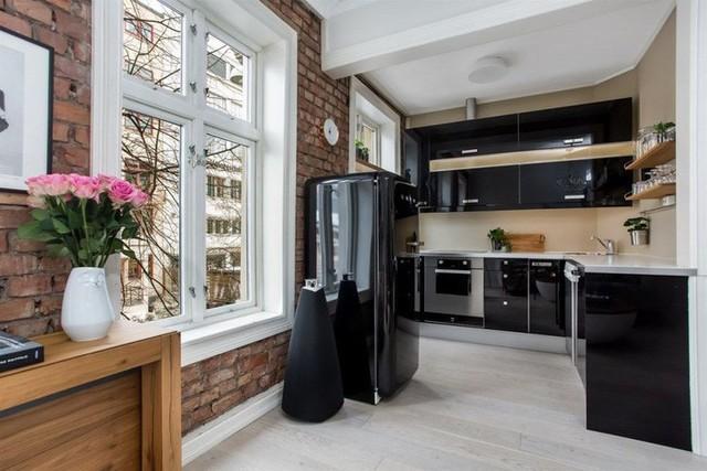 Nhà bếp nhỏ ở chung cư sẽ lột xác thoáng rộng trông thấy nhờ những ý tưởng siêu hay này - Ảnh 12.