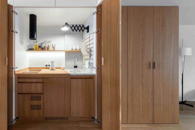 Nhà bếp nhỏ ở chung cư sẽ lột xác thoáng rộng trông thấy nhờ những ý tưởng siêu hay này - Ảnh 13.