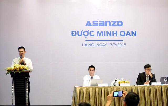 Sharp yêu cầu Asanzo xin lỗi công khai đồng thời gửi đơn tố cáo lên Bộ Công an - Ảnh 1.