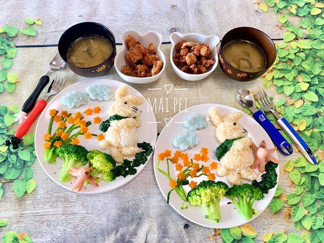 8X bữa nào cũng làm đĩa cơm cực đỉnh cho con khiến nghìn chị em phong bà mẹ quốc dân  - Ảnh 2.