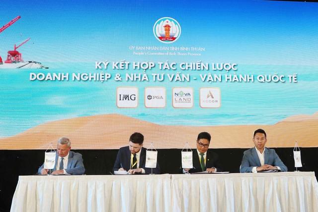 Đồng hành cùng chiến lược phát triển du lịch Bình Thuận Novaland hợp tác chiến lược cùng đối tác quốc tế THE PGA OF AMERICA – IMG – ACCOR - Ảnh 2.