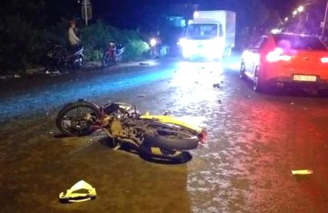 Xe máy tông trực diện ở Đắk Lắk, 2 người cầm lái thiệt mạng - Ảnh 1.