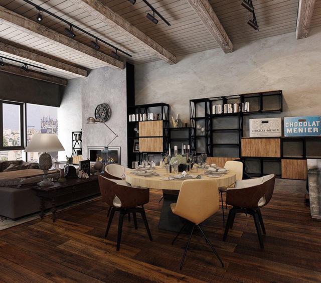 Những phòng ăn mộc mạc nhưng vô cùng tinh tế - Ảnh 2.