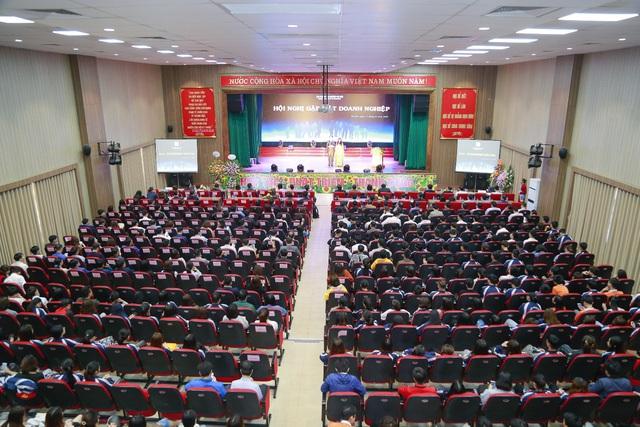 Đại học Công nghiệp Hà Nội tổ chức Hội nghị tổng kết và gặp mặt hơn 100 doanh nghiệp - Ảnh 1.