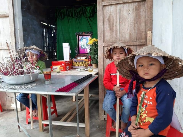 Đau lòng 4 đứa trẻ mất bố khi cận Tết, mẹ đang bị bệnh nặng - Ảnh 3.