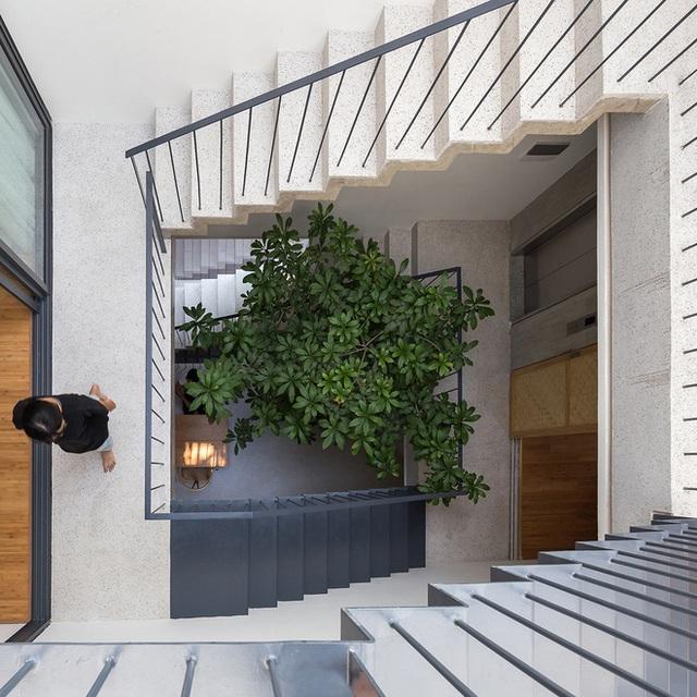 Ngôi nhà với thiết kế 2 lớp mặt tiền chống khói bụi ở Hà Nội - Ảnh 16.