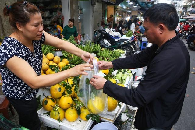 Người Hà Nội chen chân trong phiên chợ cuối cùng của năm - Ảnh 12.