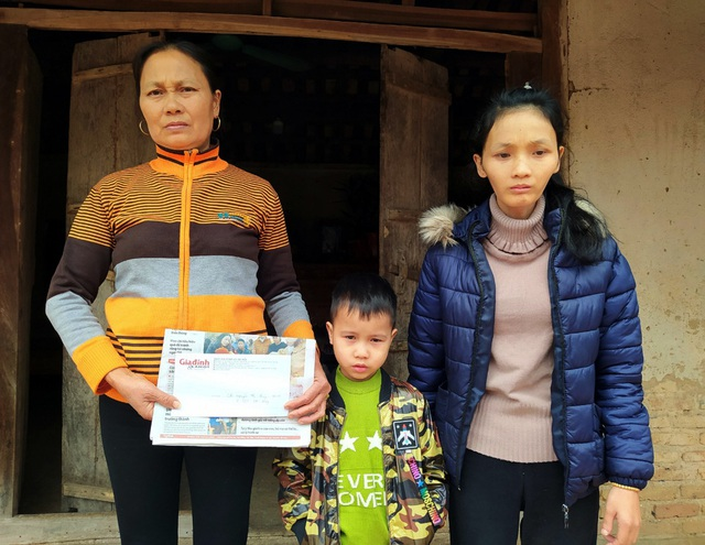 Tết ấm về với bà mẹ đơn thân bị ung thư ở Bắc Giang - Ảnh 4.