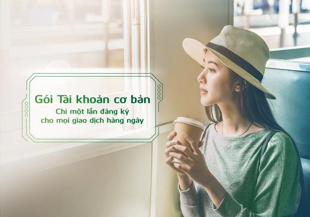 Vietcombank ra mắt 02 Gói Tài khoản mới, giúp khách hàng chỉ cần đăng ký một lần cho mọi nhu cầu giao dịch thường ngày  - Ảnh 1.