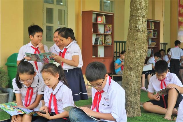 """Học sinh Hải Phòng hào hứng với """"Thư viện 50K"""" - Ảnh 4."""