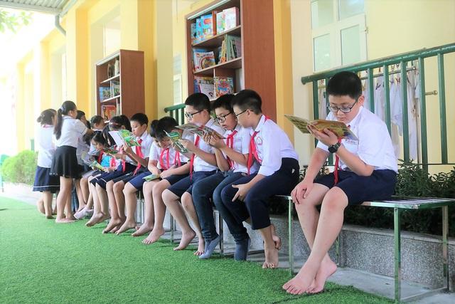 """Học sinh Hải Phòng hào hứng với """"Thư viện 50K"""" - Ảnh 5."""