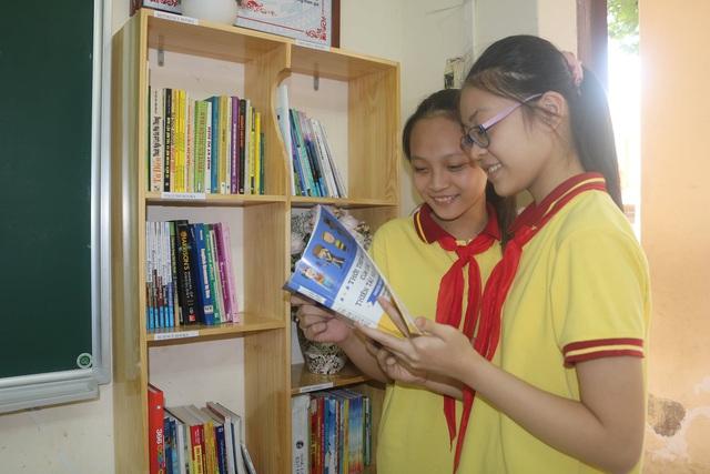 """Học sinh Hải Phòng hào hứng với """"Thư viện 50K"""" - Ảnh 8."""