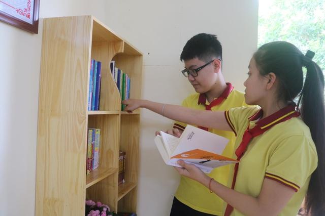 """Học sinh Hải Phòng hào hứng với """"Thư viện 50K"""" - Ảnh 7."""
