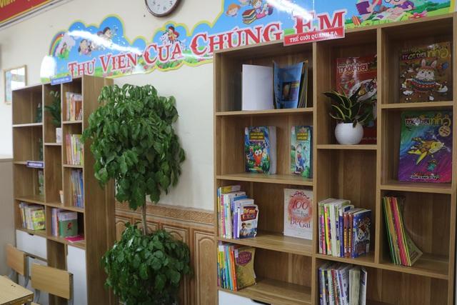 """Học sinh Hải Phòng hào hứng với """"Thư viện 50K"""" - Ảnh 1."""