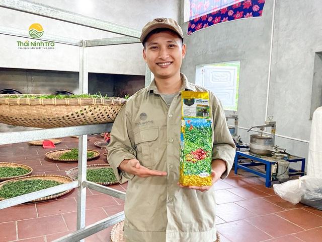 Chàng kỹ sư công nghệ khai sinh một thương hiệu trà sạch sản xuất thủ công - Ảnh 5.