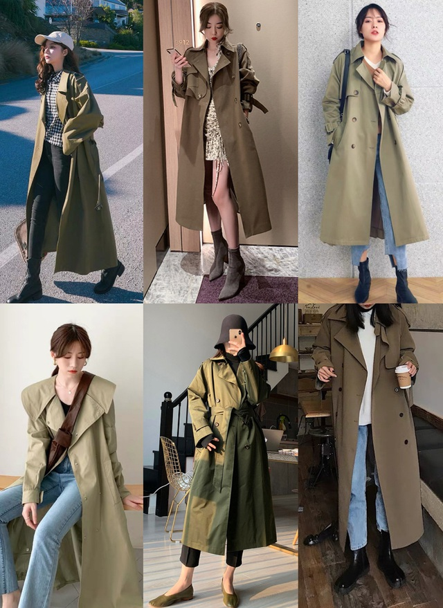4 màu áo trench coat được những nàng sành điệu diện nhiều nhất mùa lạnh, mặc vu vơ cũng ra set đồ sang xịn ra trò - Ảnh 1.